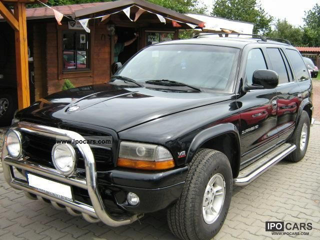 Dodge  Durango * 7 * osob SKORA * 1998 Liquefied Petroleum Gas Cars (LPG, GPL, propane) photo