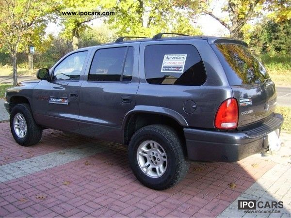2003 dodge durango slt 4x4 4 7 lpg sprzedamgo car photo for 4 7 dodge motor specs