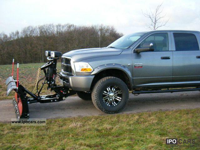 Volvo Snow Plow >> 2012 Dodge RAM 2500/3500 snow plow WESTERN MVP + - Car Photo and Specs