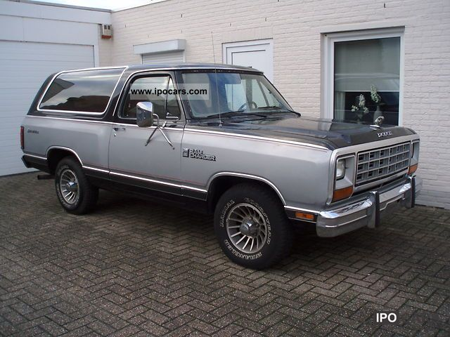 Dodge  Ramcharger 1985 Liquefied Petroleum Gas Cars (LPG, GPL, propane) photo