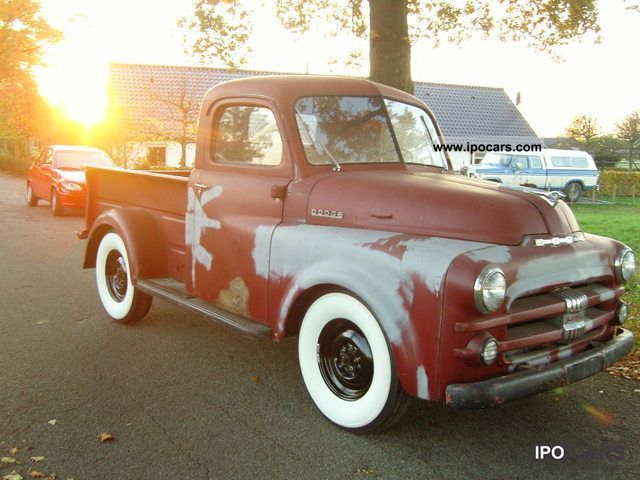 Dodge  B3B pick-up 1952 Vintage, Classic and Old Cars photo