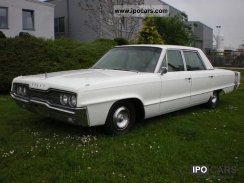 Dodge  Monaco V8 - H-approval 1966 Vintage, Classic and Old Cars photo