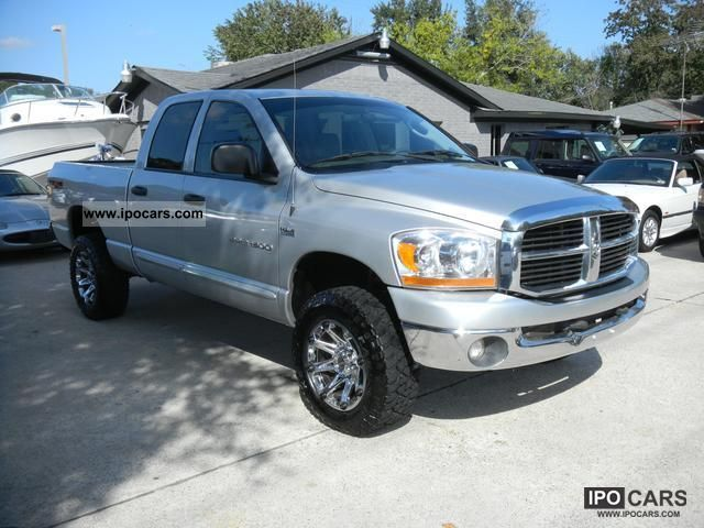 2006 dodge ram 1500 4x4 hemi off road vehicle pickup truck used. Black Bedroom Furniture Sets. Home Design Ideas
