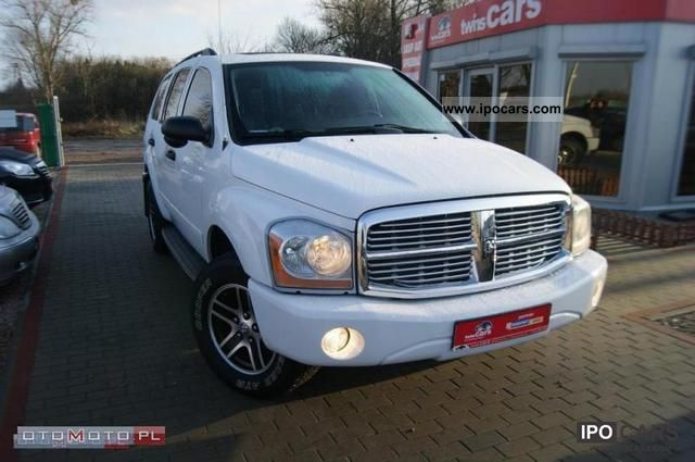 Dodge  Durango INST 4.7. * 4X4 * Gazowa SERWIS 2005 Liquefied Petroleum Gas Cars (LPG, GPL, propane) photo