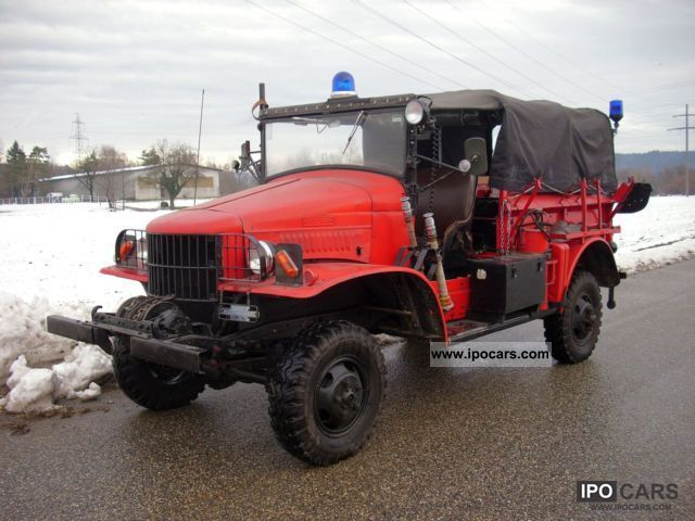 Dodge  WC 4 with winch 1940 Vintage, Classic and Old Cars photo