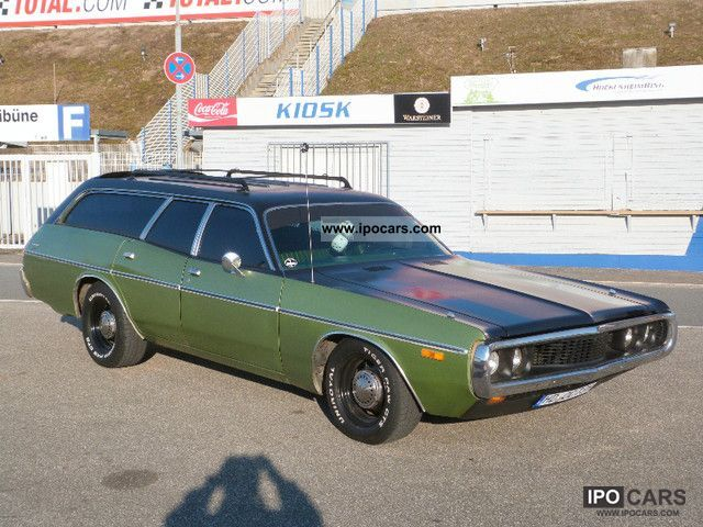 Dodge  Coronet Station Wagon Combined 1973 Vintage, Classic and Old Cars photo