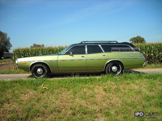 1973 dodge coronet station wagon combined car photo and. Black Bedroom Furniture Sets. Home Design Ideas