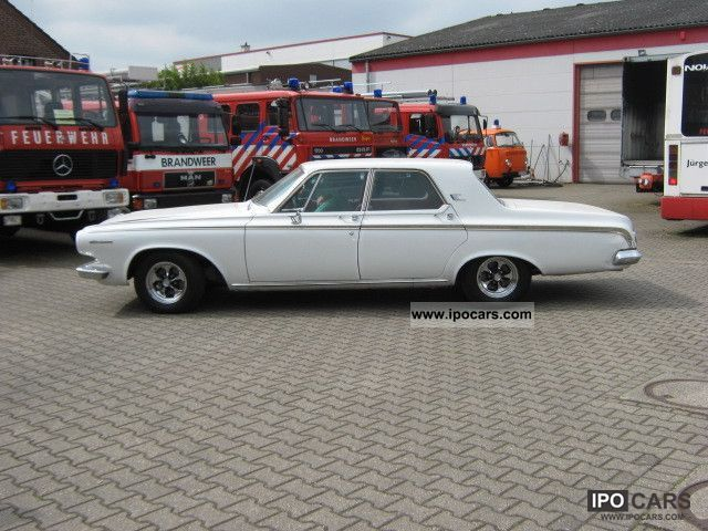 1963 Dodge  Polara Sedan 4door Limousine Classic Vehicle photo