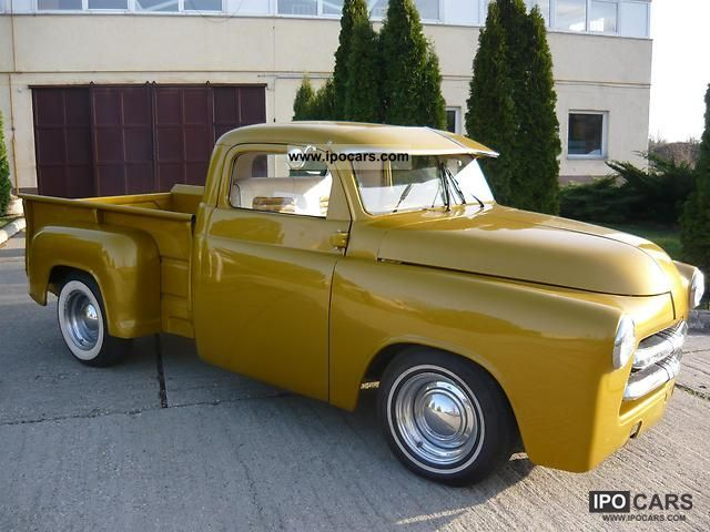 1954 Dodge 1954 Pick Up Car Photo And Specs