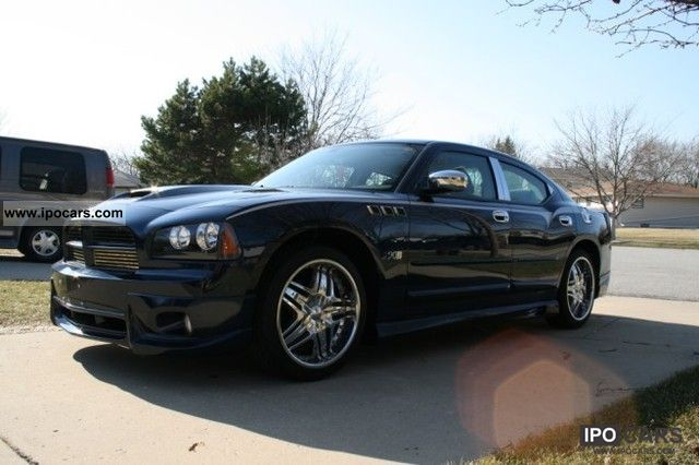2006 dodge charger car photo and specs. Black Bedroom Furniture Sets. Home Design Ideas