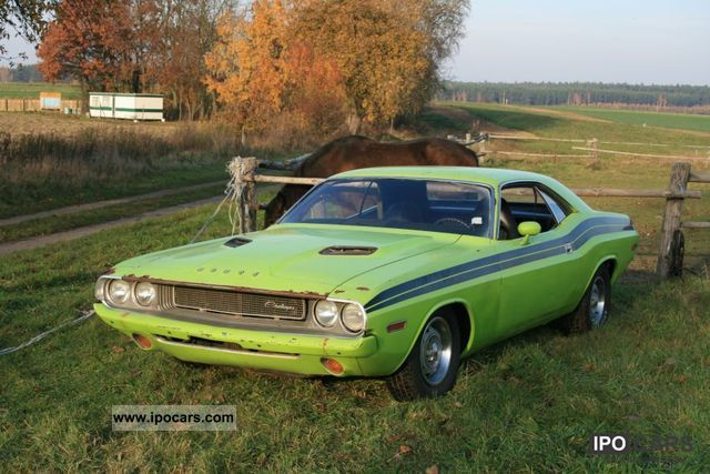 1970 Dodge  Challenger 1970 The Best Muscle Car - Nomad Cars Sports car/Coupe Classic Vehicle photo