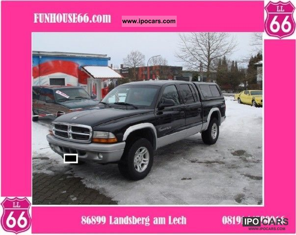 Dodge  Dakota, Crew Cab, 4x4, Hardtop, Petrol, 4.7 V8 2004 Liquefied Petroleum Gas Cars (LPG, GPL, propane) photo