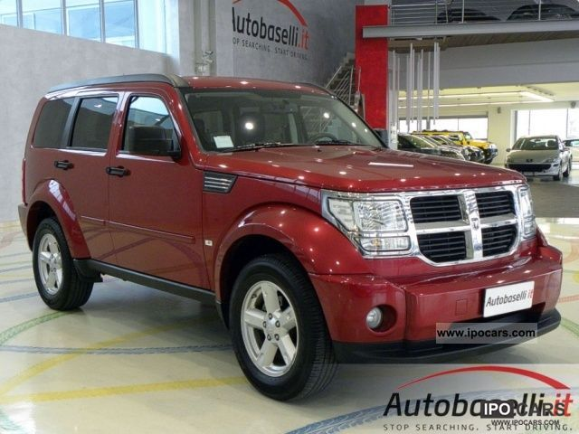 2010 dodge nitro 2 8 crd sxt 4wd 4x4 unico proprieta car photo and specs. Black Bedroom Furniture Sets. Home Design Ideas
