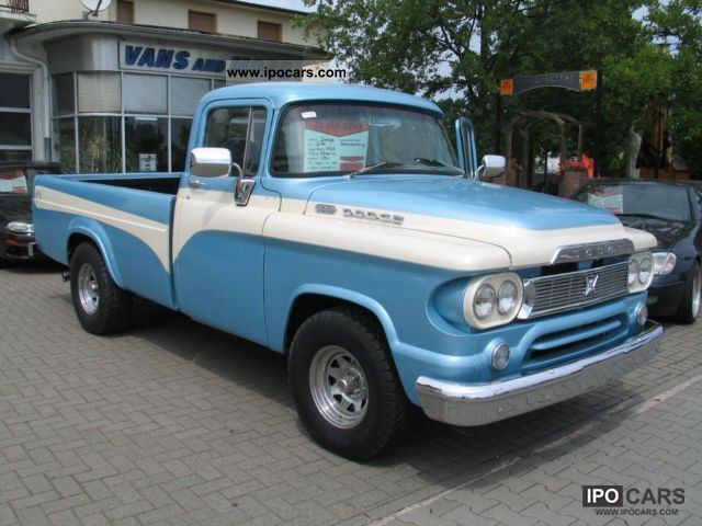Dodge  D100 RAM built in 1960 1960 Vintage, Classic and Old Cars photo