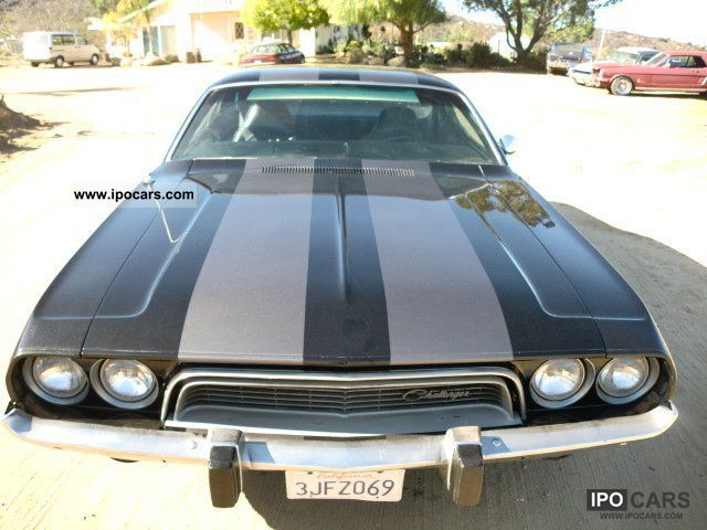 Dodge  Challenger V8 black-LOCAL- 1973 Vintage, Classic and Old Cars photo
