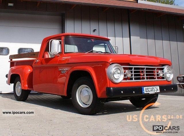 Dodge  Ram D-100 Utiline, Best Restored, stock 1966 Vintage, Classic and Old Cars photo