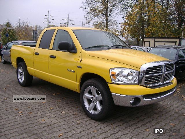2008 Dodge Ram 1500 Hemi V8 Truck Car Photo And Specs