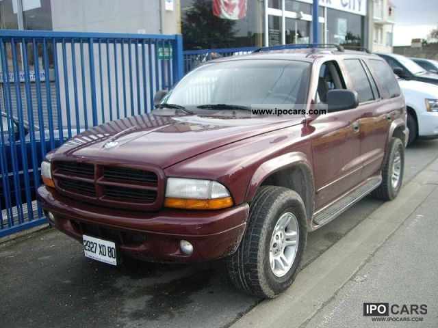 Dodge  DURANGO V8 5.9 L 2001 Liquefied Petroleum Gas Cars (LPG, GPL, propane) photo