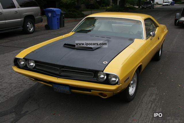 Dodge  Challenger 400hp 1971 Vintage, Classic and Old Cars photo