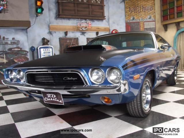 Dodge  Challenger big block 440!!!! 1973 Vintage, Classic and Old Cars photo