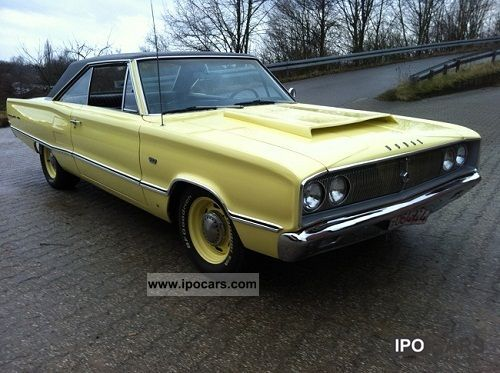 Dodge  Mopar Charger Coronet Road runner with MOT + H Max. 1967 Vintage, Classic and Old Cars photo
