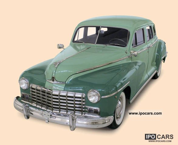 Dodge  Sedan D 24 1948 Vintage, Classic and Old Cars photo