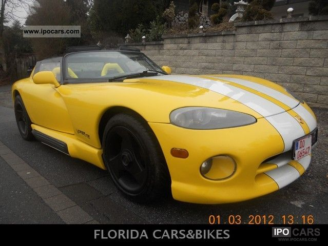 1994 Dodge  VIPER YELLOW FEVER! HAMMMERTEIL!!!!!! Cabrio / roadster Used vehicle photo