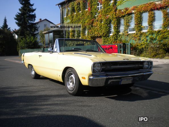 Dodge  Dart GTS convertible, h admissions, mopar 1969 Vintage, Classic and Old Cars photo