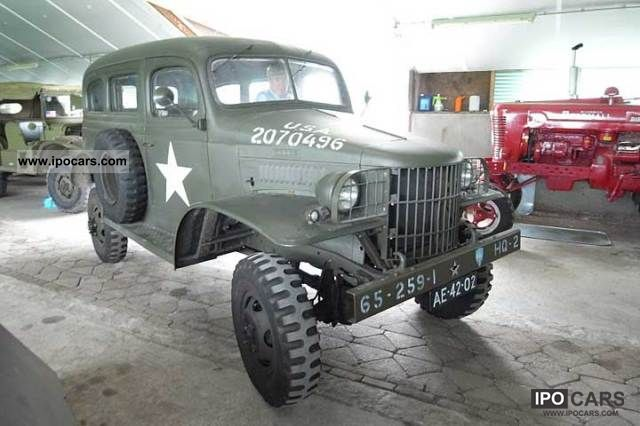 Dodge  wc 26 1/2 TON OF RARE WW2 1942 Vintage, Classic and Old Cars photo