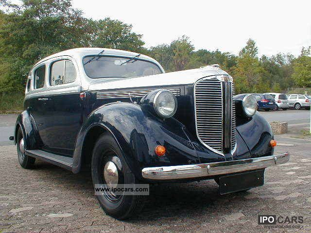 Dodge  FULLY RESTORED WITH SOUR D8 WGA 1-2! 1938 Vintage, Classic and Old Cars photo