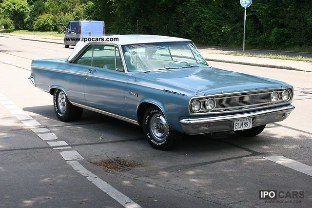 Dodge  Coronet 500 440 cui switch No charger 1965 Vintage, Classic and Old Cars photo