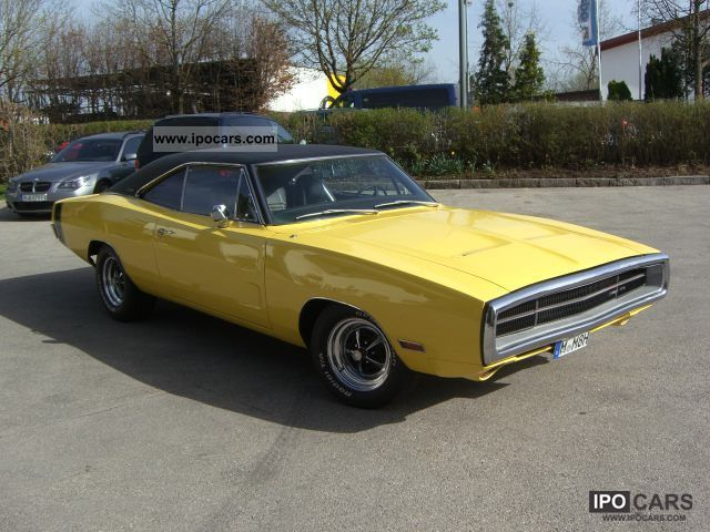 Dodge  Magnum Charger 500 383 \ 1970 Vintage, Classic and Old Cars photo