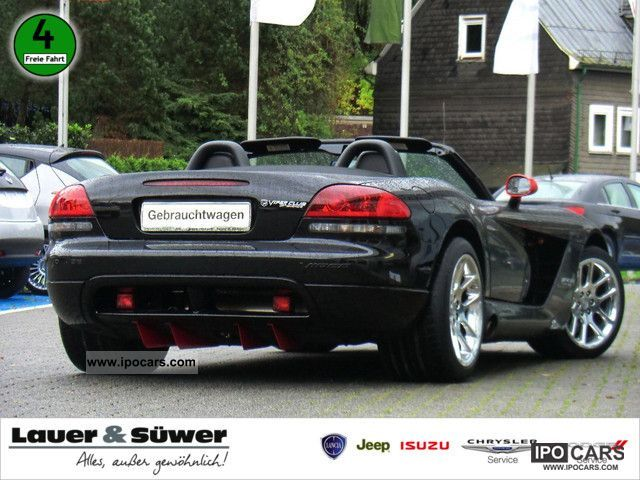 2007 Dodge Viper SRT-10 V10 LEATHER AIR XENON Cabrio / roadster Used ...