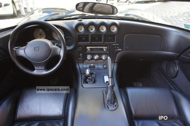 2001 Dodge Viper Rt10 Car Photo And Specs