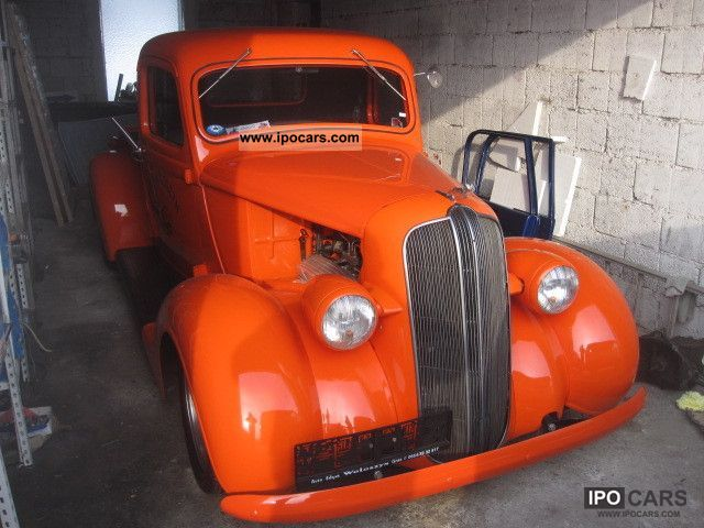 Dodge  v8 hotrod pickup 1937 Vintage, Classic and Old Cars photo