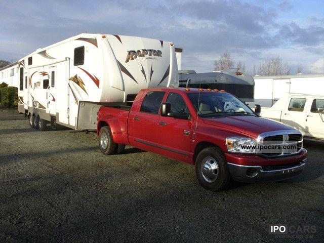 2007 Dodge  3500 trailer with Megacab Raptor Off-road Vehicle/Pickup Truck Used vehicle photo