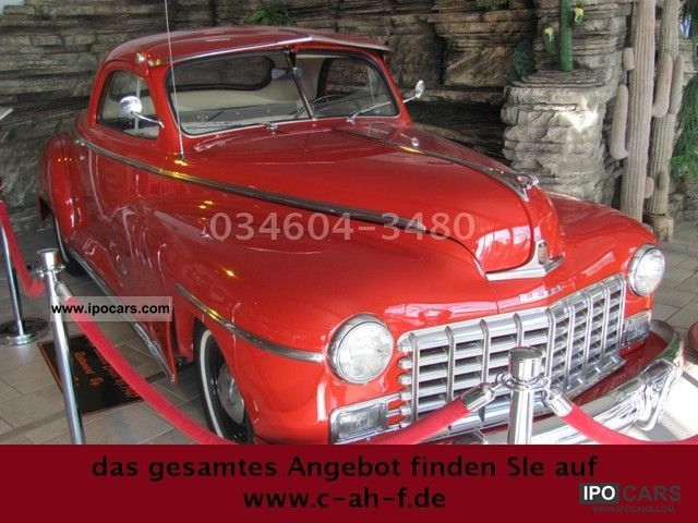 Dodge  Business Coupe 3.8 V6 1947 Vintage, Classic and Old Cars photo