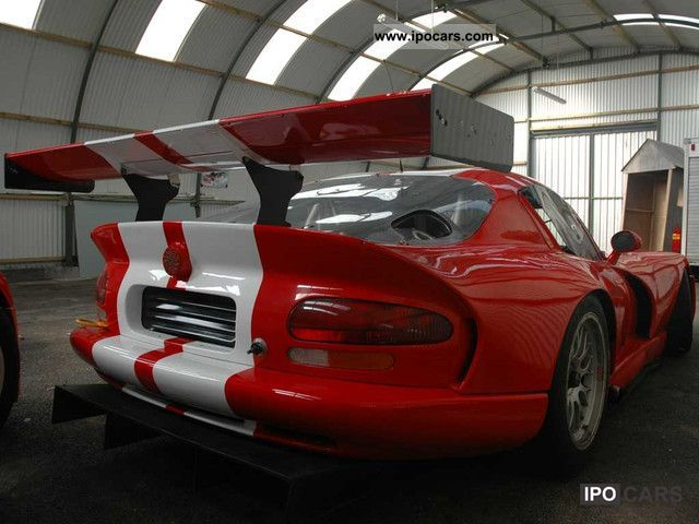 1996 Dodge Viper Gts R Ex Oreca Team Car Photo And Specs