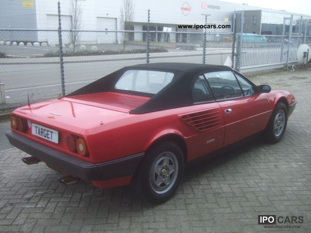 1984 ferrari mondial 3 2 qv cabriolet car photo and specs. Black Bedroom Furniture Sets. Home Design Ideas