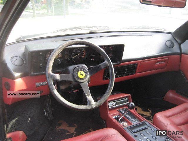 1985 ferrari mondial cabriolet red leather quatrovalvole climate car photo. Black Bedroom Furniture Sets. Home Design Ideas