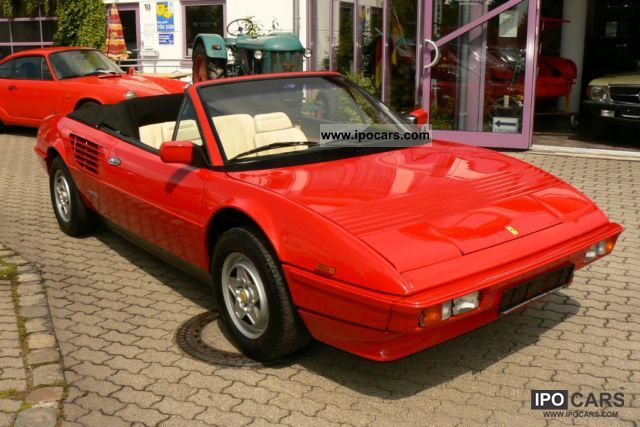 1985 ferrari mondial 3 0 qv cabriolet new timing belt kd vat car photo and specs. Black Bedroom Furniture Sets. Home Design Ideas