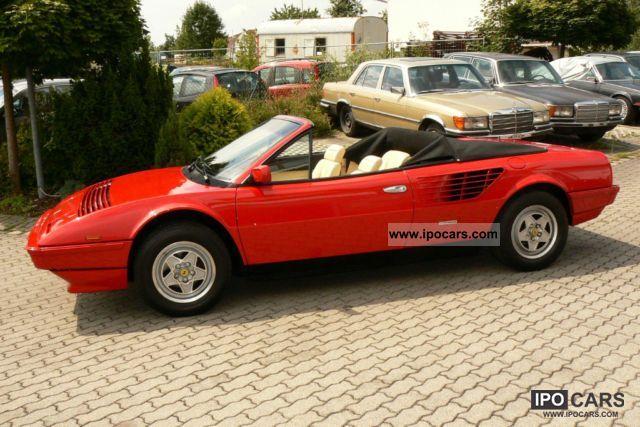 1985 ferrari mondial 3 0 qv cabriolet new timing belt. Black Bedroom Furniture Sets. Home Design Ideas