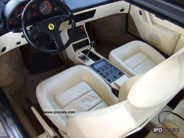 1994 ferrari mondial t 3 4 scheckh maintained valeo circuit car photo and. Black Bedroom Furniture Sets. Home Design Ideas