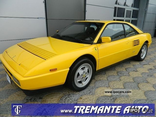 1989 ferrari mondial 3 4 t car photo and specs. Black Bedroom Furniture Sets. Home Design Ideas