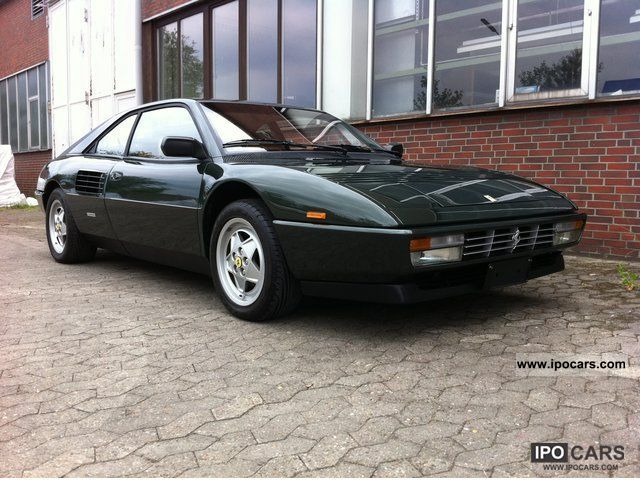 1989 ferrari mondial t 4 3 coupe beautiful classic car. Black Bedroom Furniture Sets. Home Design Ideas