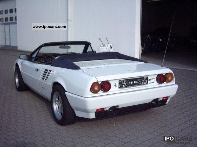 1986 ferrari mondial cabriolet 2 3 quattrovalvole tuv new asu car photo a. Black Bedroom Furniture Sets. Home Design Ideas