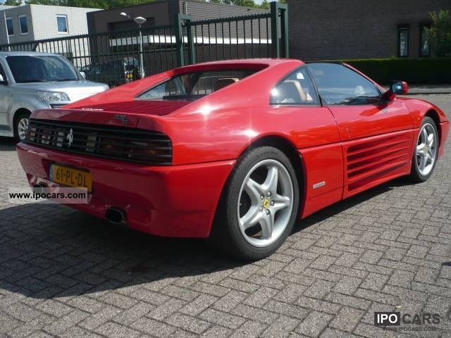 1990 ferrari 348 ts car photo and specs. Black Bedroom Furniture Sets. Home Design Ideas