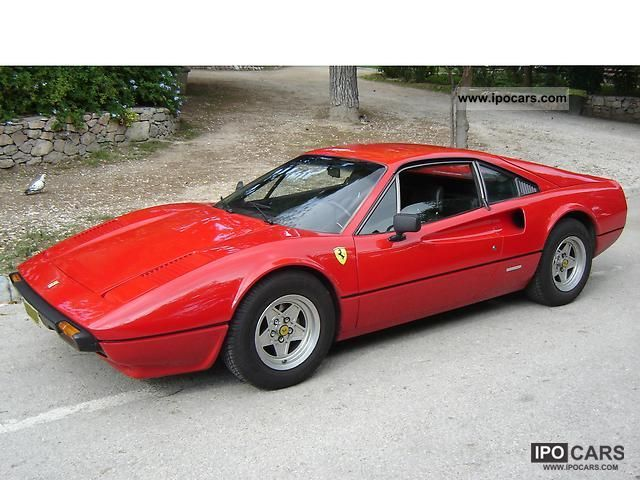 Ferrari  308 GTB (Berlinetta) 1977 Vintage, Classic and Old Cars photo