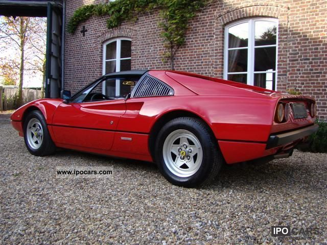 1981 Ferrari 308 GTSi  Car Photo and Specs
