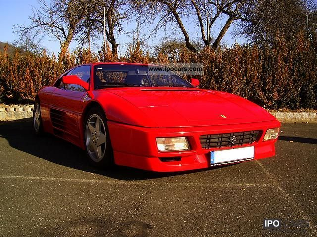 1990 Ferrari  348 Sports car/Coupe Used vehicle photo